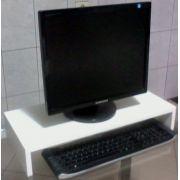 Suporte Base P/ Monitor/computador em MDF 60x10x25