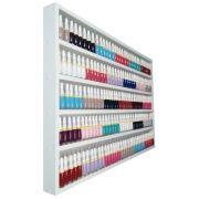 Expositor De Esmaltes -80Lx60Ax6P P/ Manicure- 100%mdf