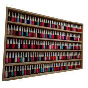 Expositor De Esmaltes -94Lx60Ax6P P/ Manicure-MDF CRU