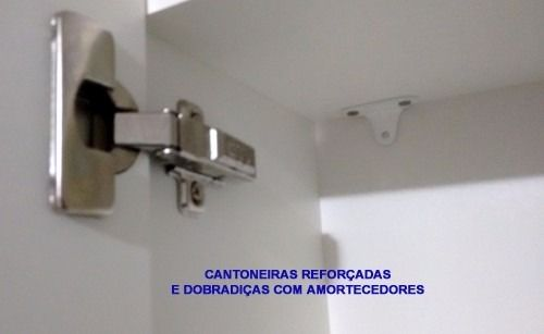 Armário Aéreo Com Fundo Porta E Chave 30x30x20  - Virtude Móveis