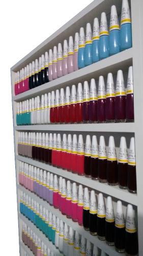 Expositor De Esmaltes- Manicure-p/ 200 Esmaltes 60x94x6  - Virtude Móveis