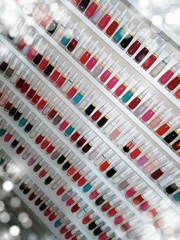 Expositor De Esmaltes Mdf 100x83x6 P/250 Esmaltes - Manicure  - Virtude Móveis