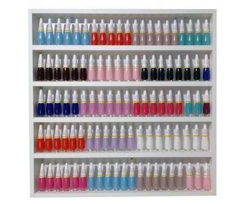 Expositor De Esmaltes-p/manicure Salão Beleza-60lx60ax6p  - Virtude Móveis