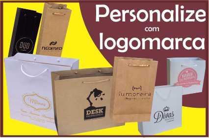 sacolas personalizadas com logomarca