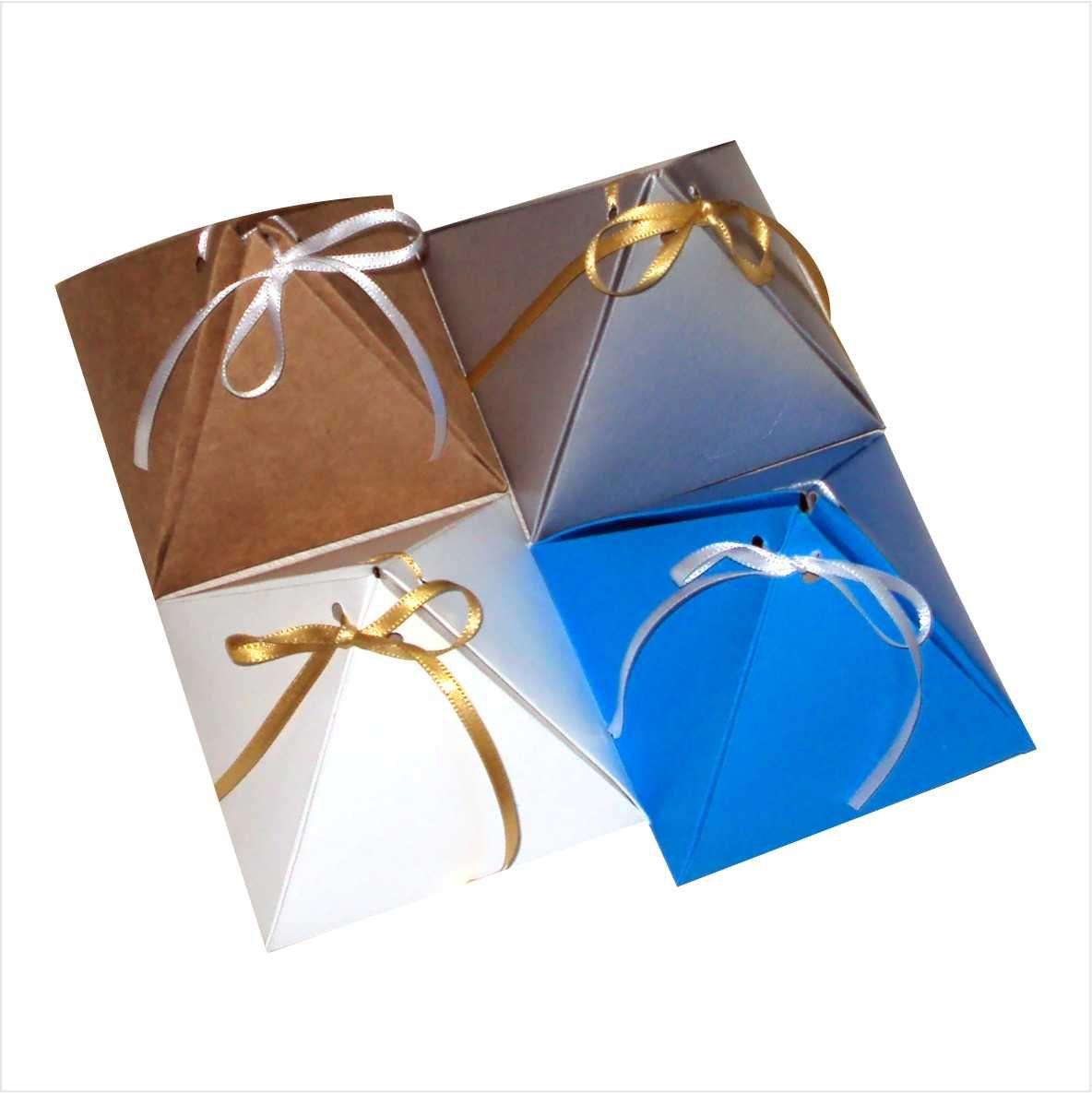 Caixa pirâmide pequena - 10 unidades