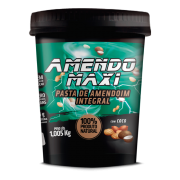 Pasta Integral de Amendoim com Coco 1kg – AmendoMaxi