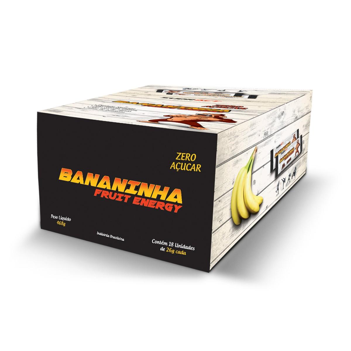 Bananinha Fruit Energy 18 unidades de 26g - Sudract Nutrition