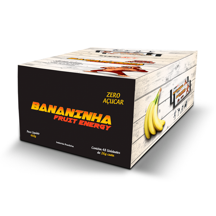Bananinha Fruit Energy 18 unidades de 26g - Sudract Nutrition