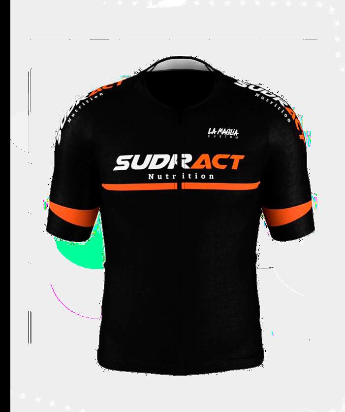 Camisa de Ciclismo - Sudract