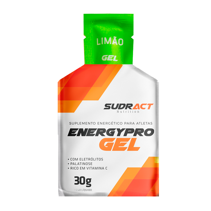 Energy Pro Gel 15 sachês de 30g - Sudract Nutrition