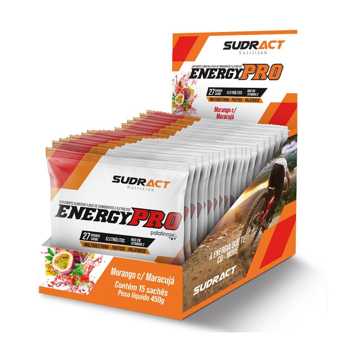 Energy Pro 15 sachês de 30g - Sudract Nutrition