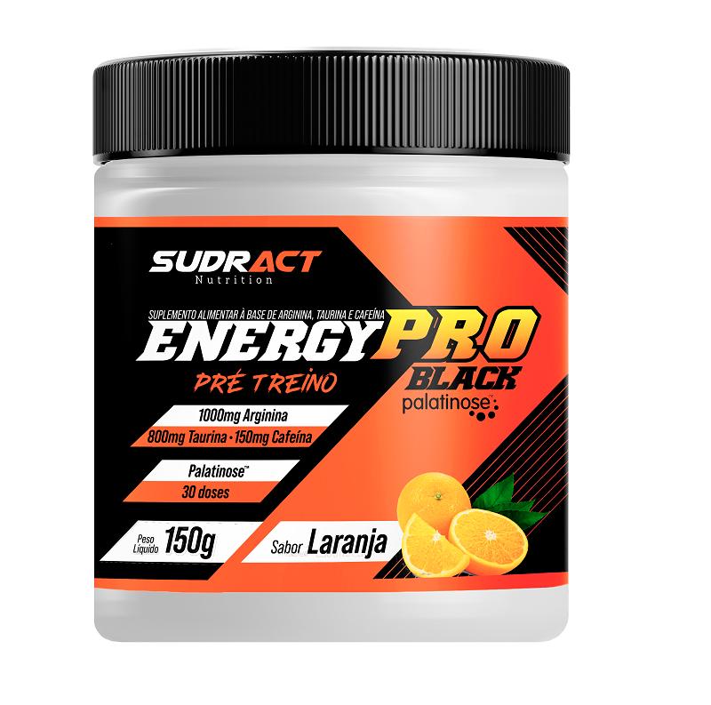 Energy Pro Black - Pré Treino - Sudract Nutrition