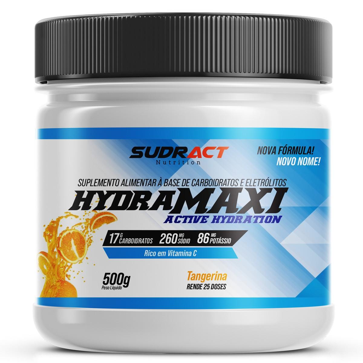 Isotônico em Pó Hydramaxi 500g - Sudract Nutrition