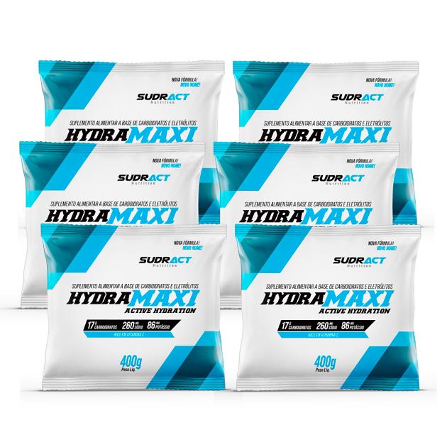 Kit 6 Sachês Hydramaxi - 400g Cada - Sudract Nutrition