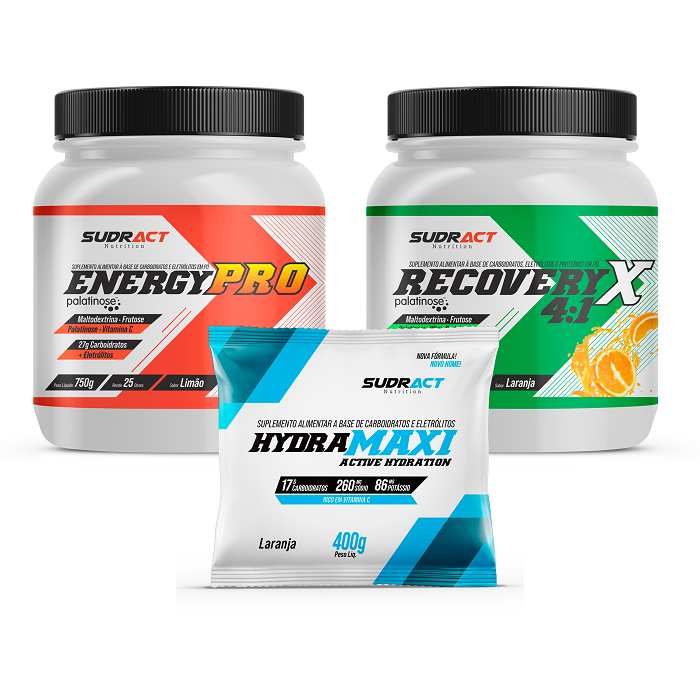 Kit Energy Pro Pote 750g + Recovery Pote 975g