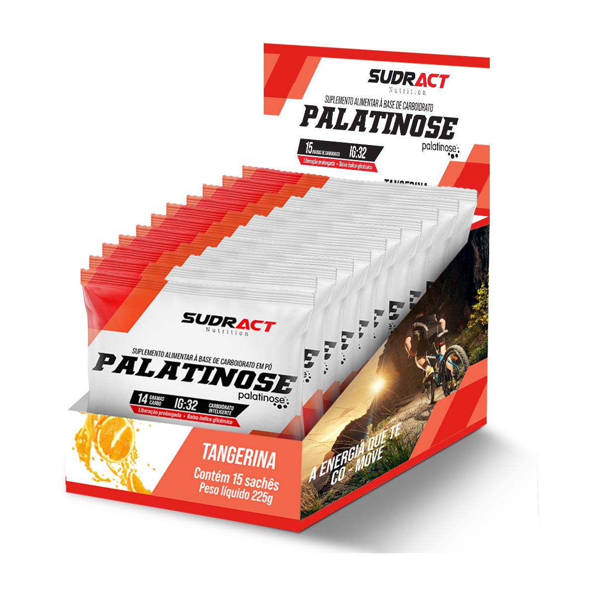 Palatinose 15 sachês de 15g - Sudract Nutrition