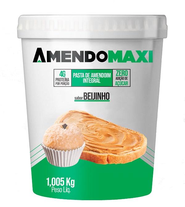 Pasta de Amendoim Beijinho 1kg  AmendoMaxi