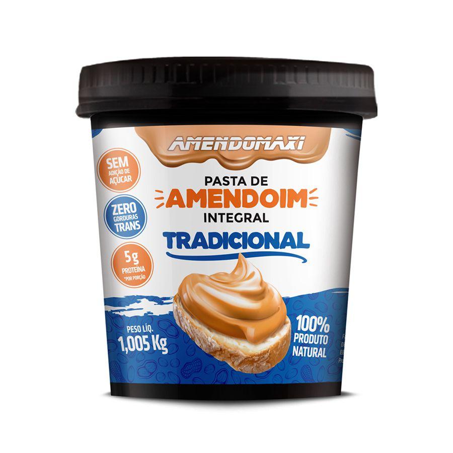 Pasta de Amendoim Tradicional 1kg – AmendoMaxi