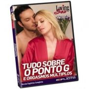 DVD - Tudo sobre o ponto G  Loving Sex - Adão e Eva