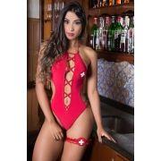 Fantasia Erótica Salva Vidas Sexy HotGirls - Garota veneno