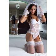 Fantasia Noiva Sexy - Garota Veneno