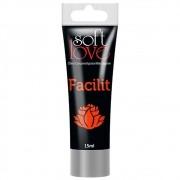 Gel lubrificante Anal Facilit 4x1 Bisnaga 15 Ml - Soft Love