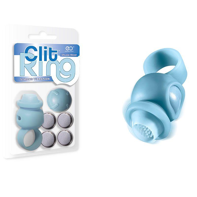 Anel vibratório estimulador clitoriano em silicone - Clit Ring Strong Vibration