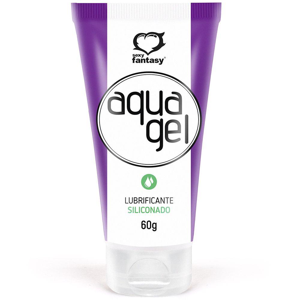Aqua Gel Lubrificante Siliconado 60g - Sexy Fantasy