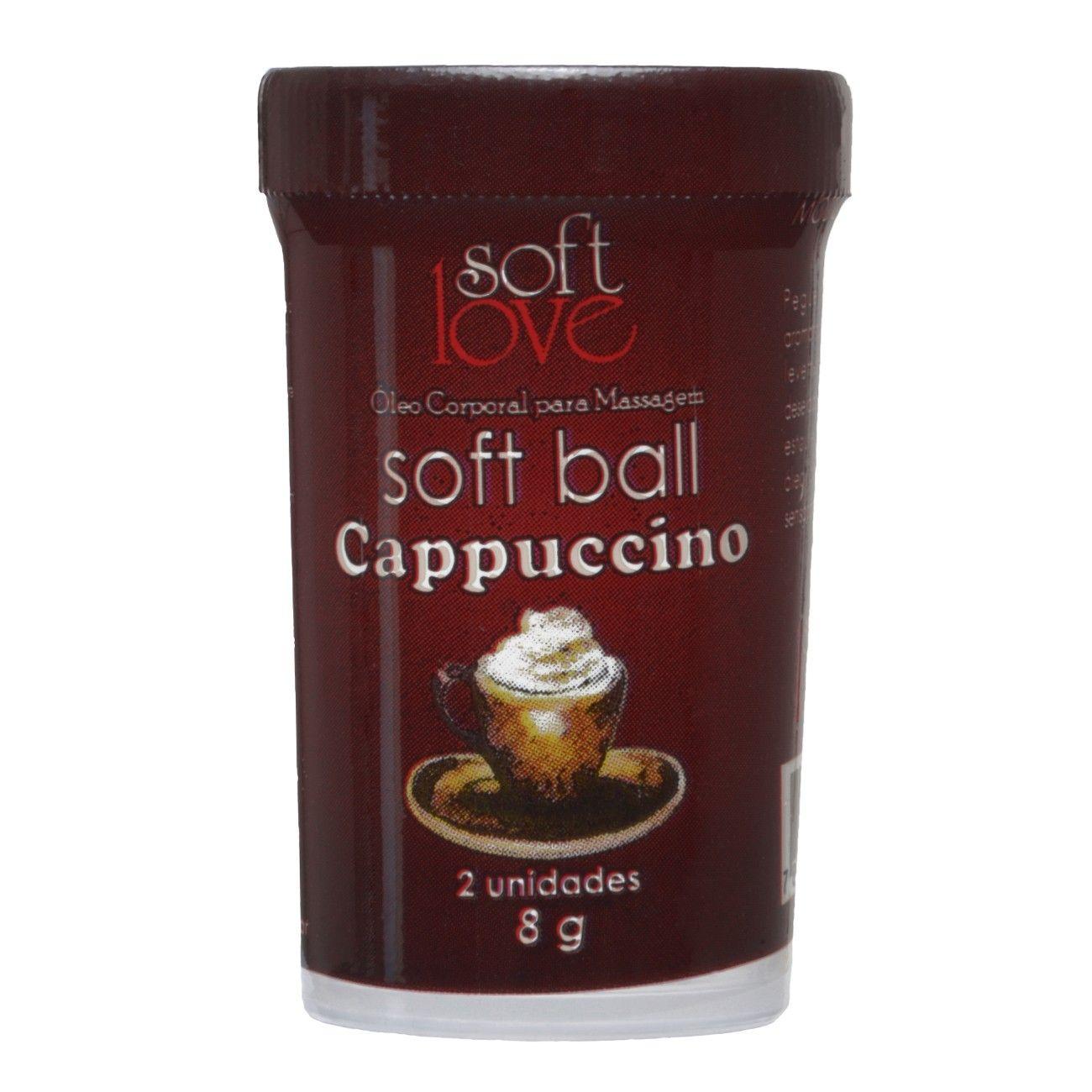 Bolinha Explosiva Beijável Soft Ball Cappuccino