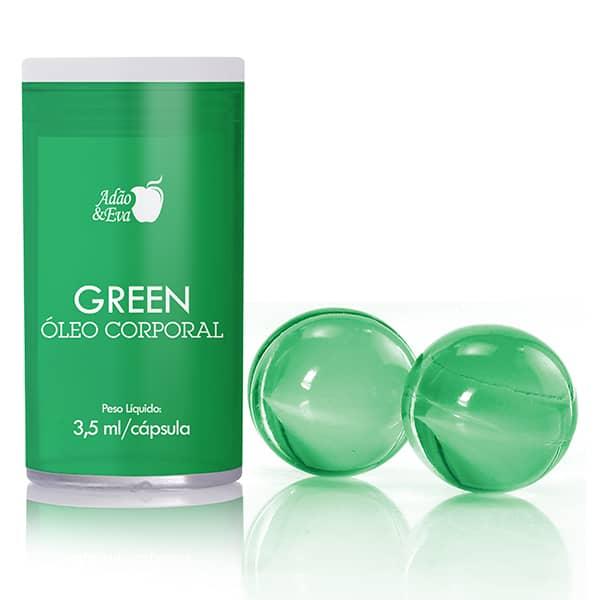 Bolinha Explosiva Verde CK One 2un -  Adão e Eva