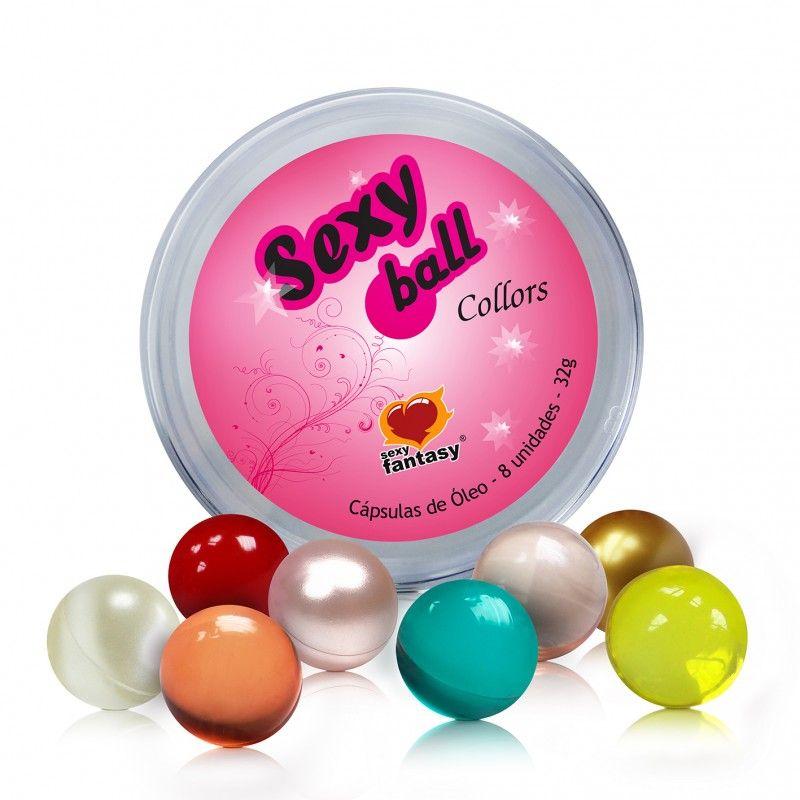 Bolinhas Explosivas Sexy Ball Collors 8 Un