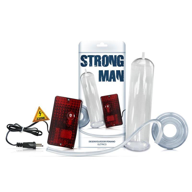 Bomba Peniana Elétrica Strong Man 220w - Sexy Fantasy