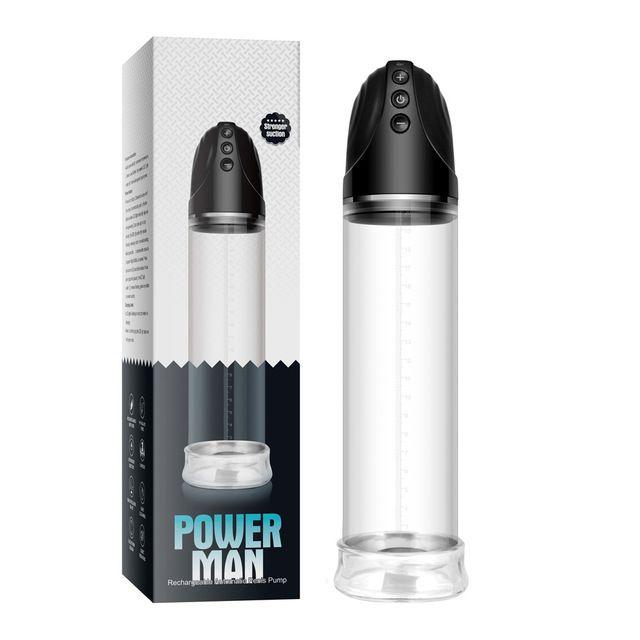Bomba peniana recarregável power man