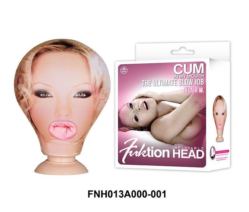 Cabeça Boneca Inflavel Penetravel Fuktion Head Inflatable - Nanma