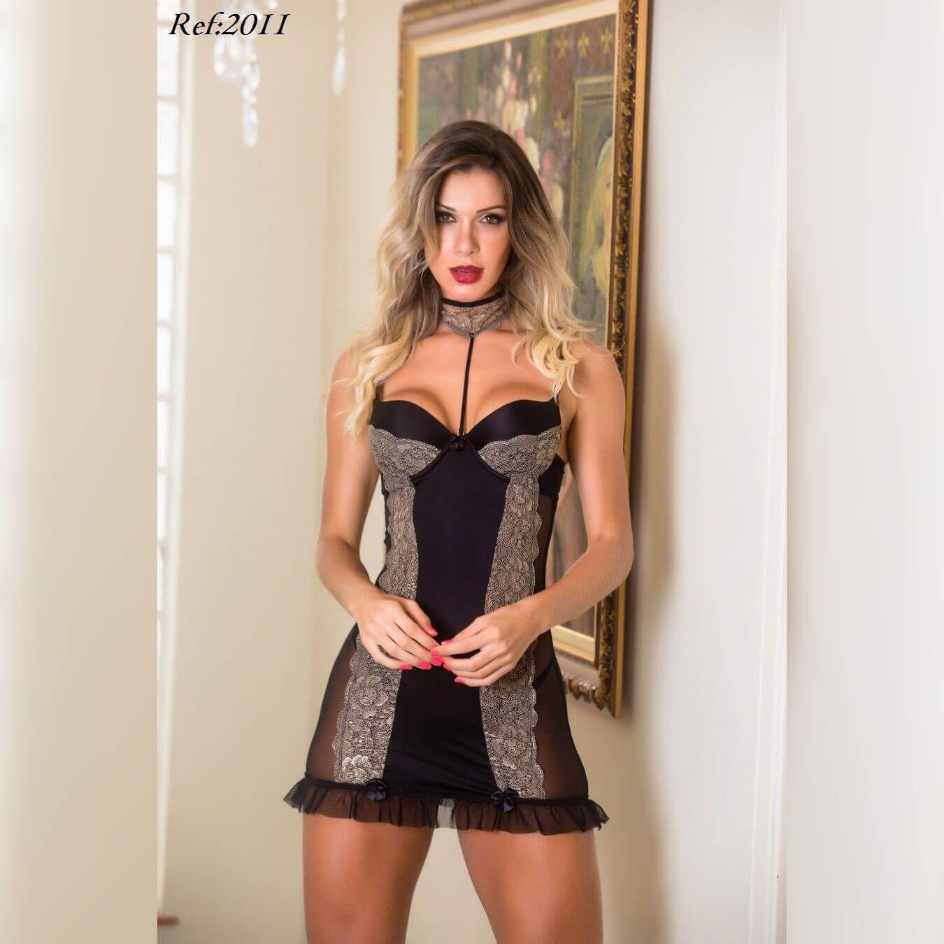 Camisola Sensual e provocante - Lingerie Garota veneno