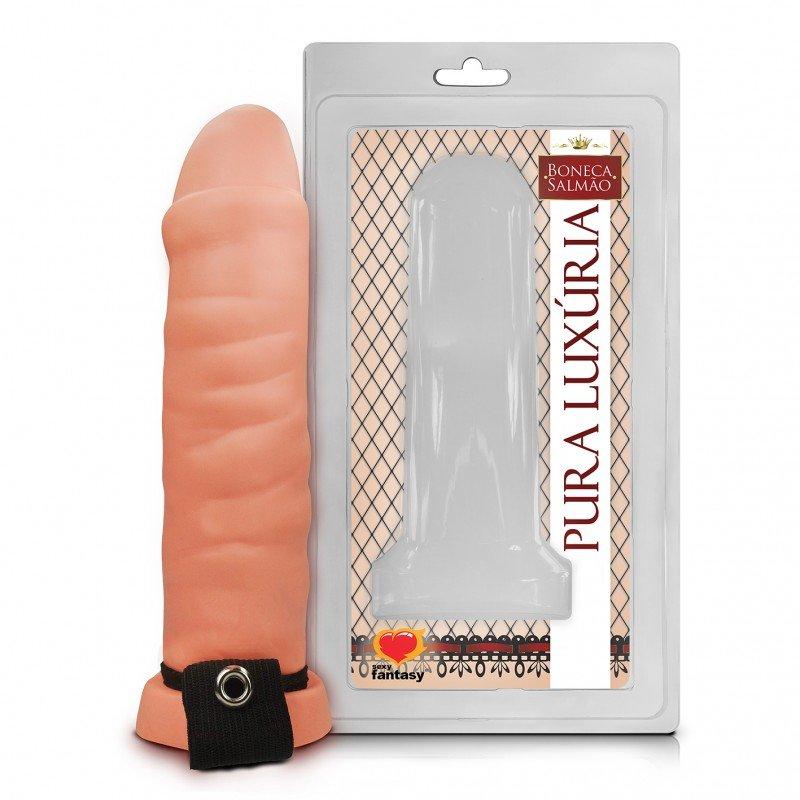 Capa Peniana Com Cinta Elástica 15cm - Sexy Fantasy