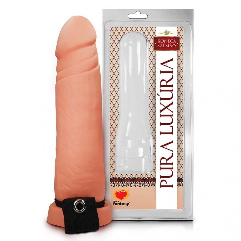 Capa Peniana Com Cinta Elástica 17cm - Sexy Fantasy