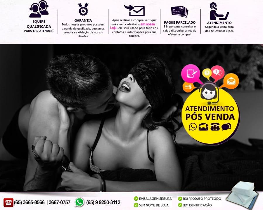 Capa Peniana Com Vibrador e Cinta Ajustável Strap-On - Lovetoy