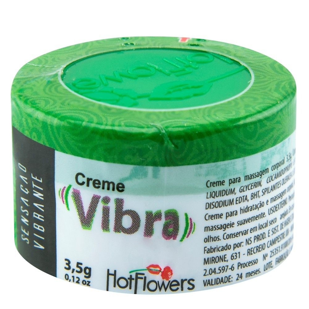 Creme Vibra Hot Flowers - Excitante