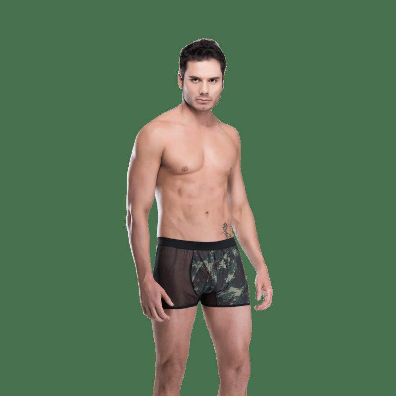 Cueca Boxer Sensual Camuflada - Sexy Fantasy