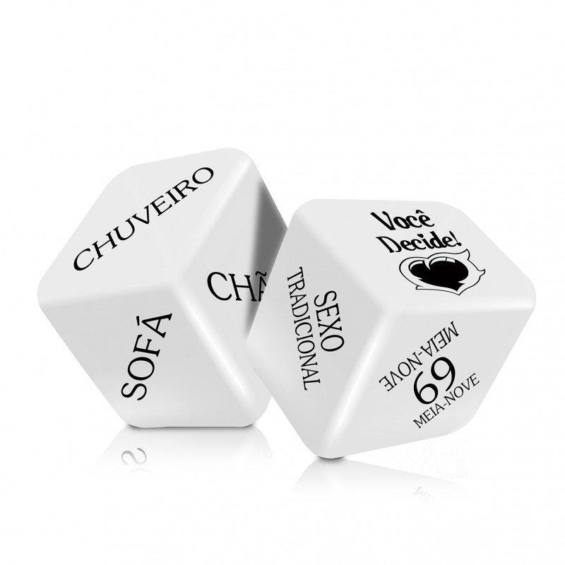 Dado erótico Cubo Do Amor Hot Com 2 Unidades