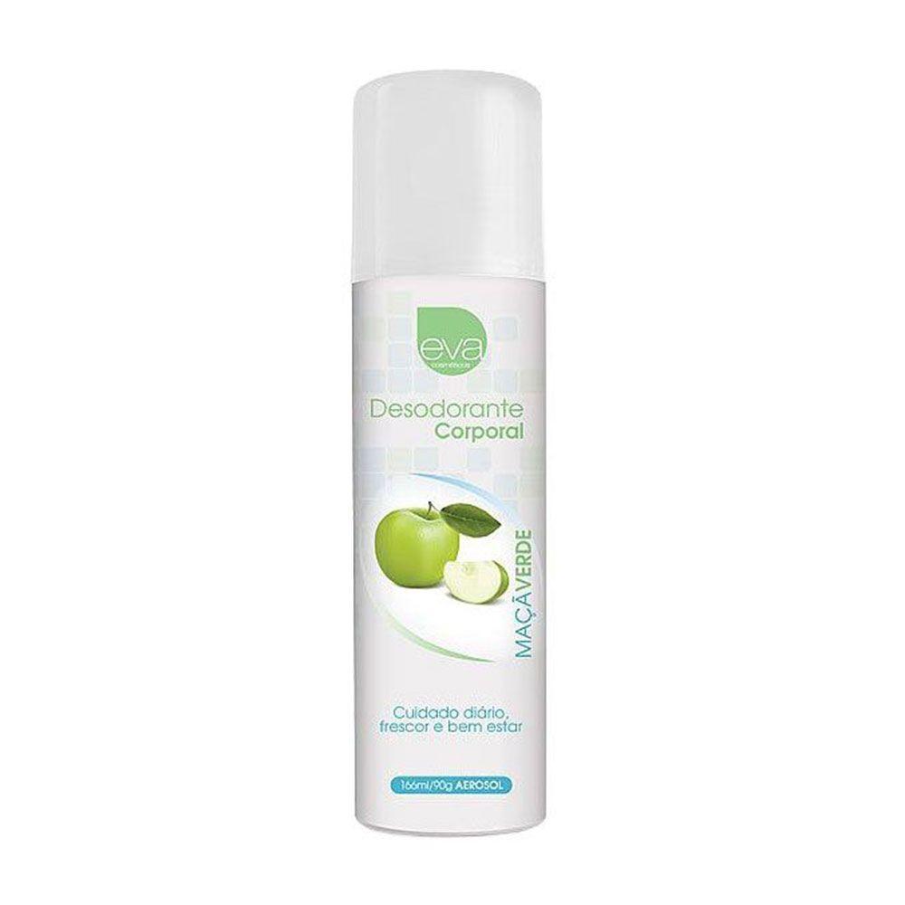 Desodorante Íntimo 166ml - Aroma Maçã Verde - Eva Cosméticos