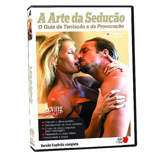 DVD A arte da sedução - O guia da tentação e da provocação