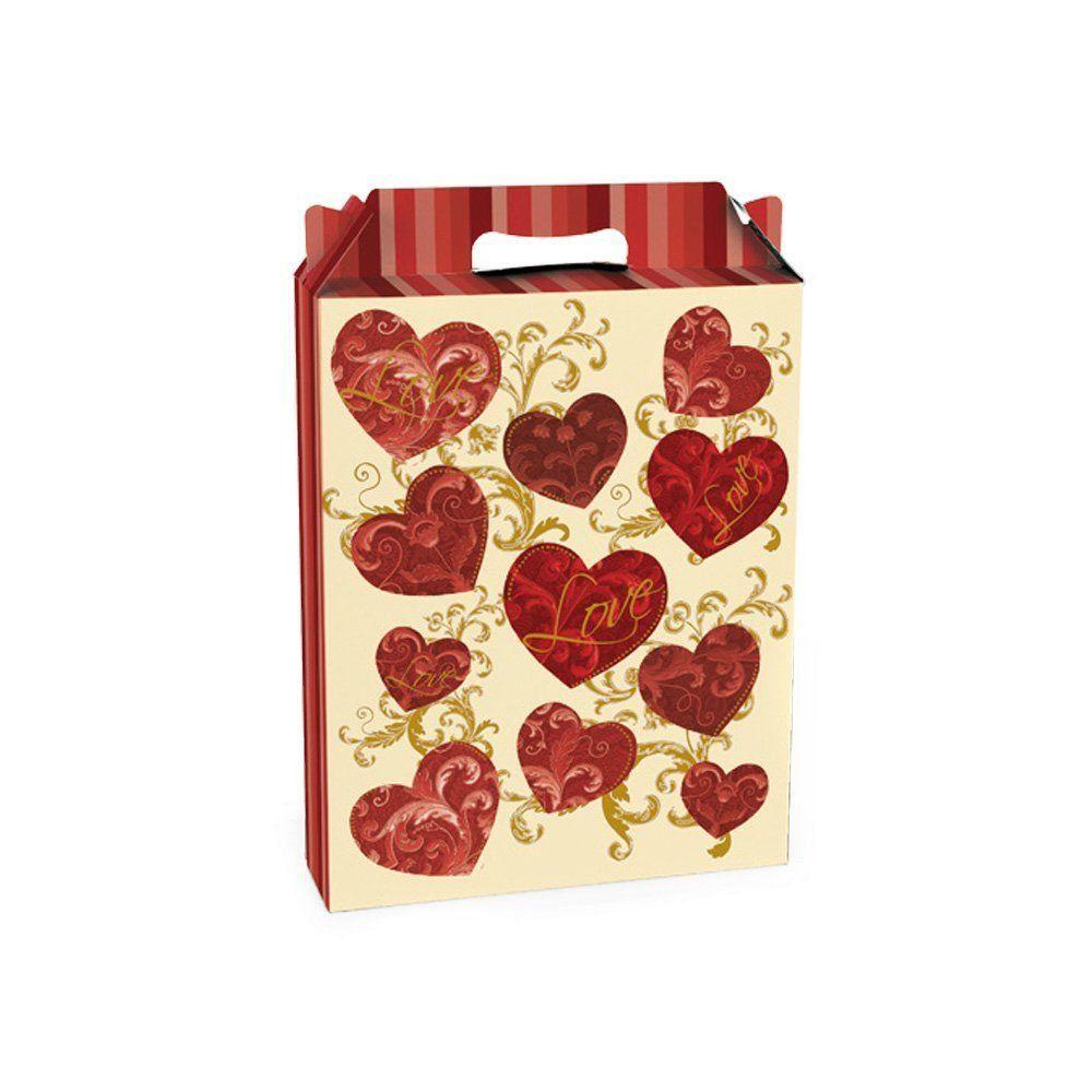 Embalagem para presente caixa maleta Eternidade P 15x6x18