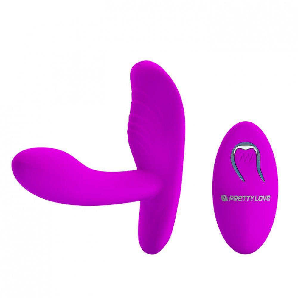 Estimulador de clítoris com penetrador e 12 vibração - Magic fingers