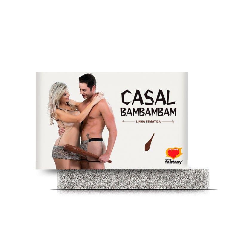 Fantasia Casal Bambam Linha Temática - Sexy Fantasy