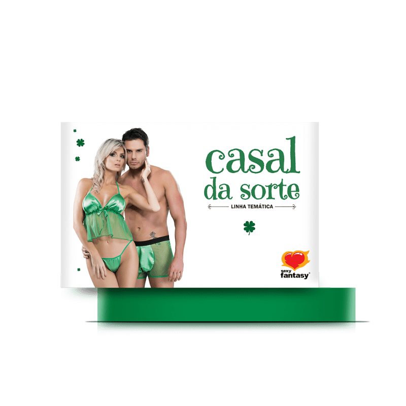 Fantasia Casal da Sorte Linha Temática - Sexy Fantasy