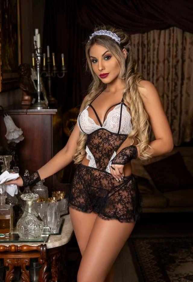 Fantasia Empregada Vip - Lingerie Feminina Sexy