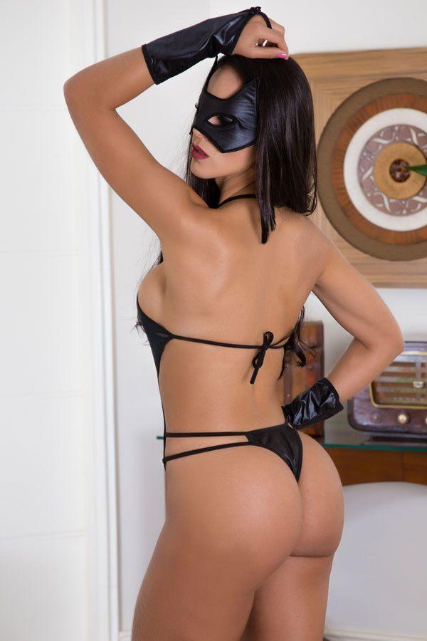 Fantasia erótica Body Mulher Aranha
