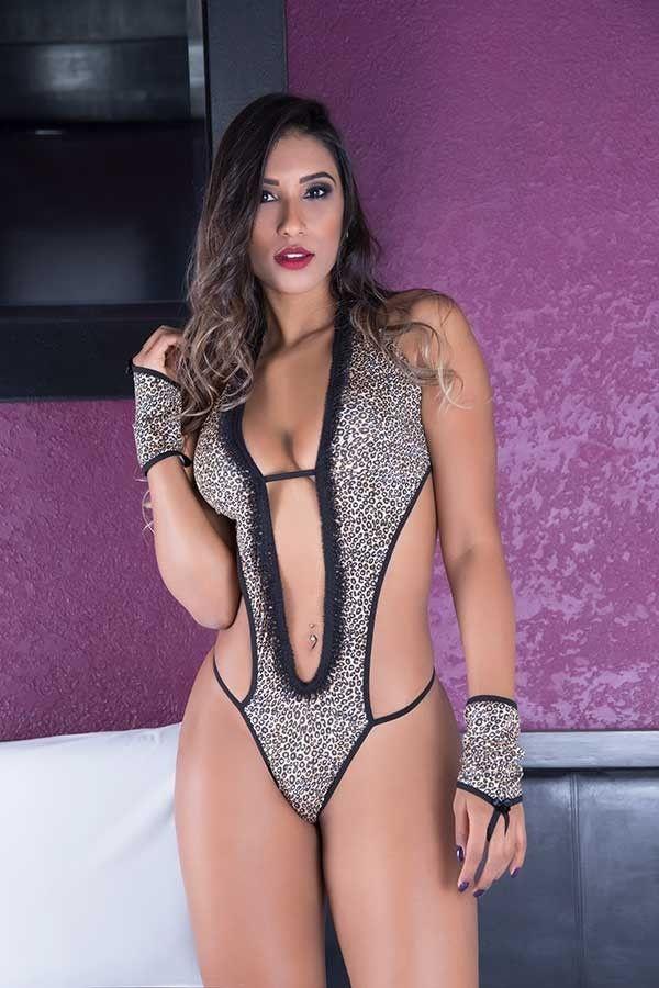 Fantasia Erótica Body Sensual Felina Sexy